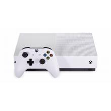 Xbox One S 500GB + диск (б/у)