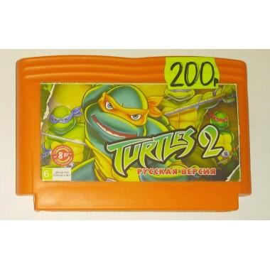 """Картридж для Dendy """"Turtles 2"""""""