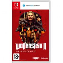 Nintendo Switch Wolfenstein II - The New Colossus б/у