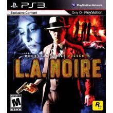 L.A.Noire [PS3, русские субтитры] б/у
