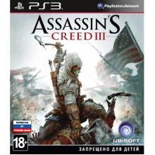 Assassin's Creed 3 [PS3, русская версия] б/у