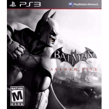 Batman: Arkham Asylum  [PS3, русская версия] б/у