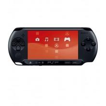 SONY PlayStation Portable E1008 + карта памяти с играми (б/у)